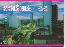 "Brésil- Brasil Brazil -GOIÂNIA-GO-Carnet En Forme ""d´accordéon""  De 5 Cpm - = Voir 6 Scans - Goiânia"