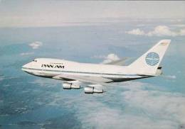 AVIATION - PAN AM - BOEING 747 - 1946-....: Moderne
