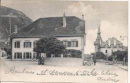 6891 - Baulmes Rue Du The Et Avenue De L´Hôtel De Ville - VD Vaud