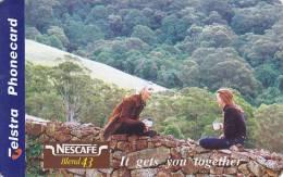 Australia, 97005001A , Nescafe, 2 Scans. - Australien