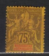 GF228 - MADAGASCAR 1896 , Yvert N. 39  ***  MNH - Non Classificati