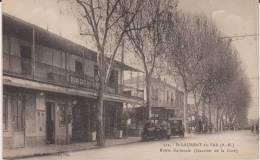 CPA - ALPES MARITIMES 06  - ST LAURENT DU VAR - ROUTE NATIONALE - - Saint-Laurent-du-Var