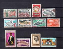 Tchad   1969-70 .-   Y&T Nº   213/214 - 215- 216/219 - 220 - 221 - 222 - 223 - 224 - Chad (1960-...)