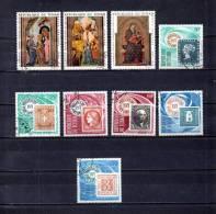 Tchad   1970-71 .-   Y&T Nº   75/77 - 78/83   Aéreos - Chad (1960-...)