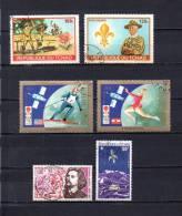 Tchad   1972 .-   Y&T Nº   120/121 - 122/123 - 124 - 125   Aéreos - Chad (1960-...)