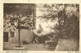 VEIGY-FONCENEX 2 HAUTE SAVOIE PHOTO L. TERHELL ECRITE CIRCULEE EN 194? - Sonstige Gemeinden
