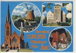 SUOMI - FINLAND:  Terveiset TURUSTA Hälsningar Fran;  TURKU - ABO - 1986 - Finlande