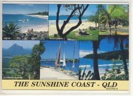 AUSTRALIA - THE SUNSHINE COAST - Multicard - Used 1997, Nice Stamp W. Butterfly, Airmail - Sunshine Coast