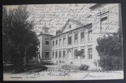 Jodoigne, Le Château, Circulée En 1904 - 2 Scans - Jodoigne