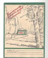Protège Cahier Valentine Les Belles Peintures Des Années 1960 - Protège-cahiers