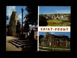 43 - SAINT-FRONT - Eglise Romane - 15.996 - Multi Vues - France