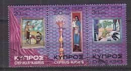 L3983 - CHYPRE CYPRUS Yv N°420/22 - Gebruikt