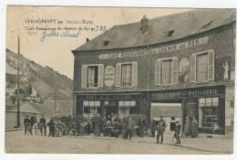 27 - Vernonnet          Café Restaurant Du Chemin De Fer - Vernon