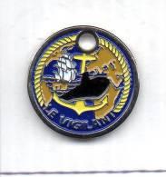 Jeton De Caddie Marine Sous Marin Le Vigilant - Sonstige