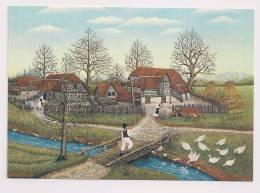 Ivka Sobocan   Herbst In Turopolje   Autumn In Turopolje - Paintings