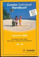 Condor Individuell - Handbuch Vom Sommer 1998 - Flugverbindungen - Catalogi
