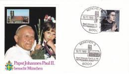 Pope John Paul II - Visit: 1980 Germany Köln (B54) - Papes