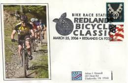 USA.   Redlands Bicycle Classic. Redlands. Californie, Sur Lettre - Wielrennen