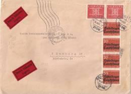 WEST GERMANY 1963 EUROPA CEPT COVER - EXPRES - [7] République Fédérale