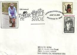 USA. Tour Cycliste De Muleshoe , Texas,  Année 2004, Enveloppe Souvenir - Wielrennen