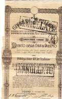 PALERMO 1902 /  Debito Della Città Di Palermo - Obbligazione Al Portatore Da Lire 250 - Electricité & Gaz