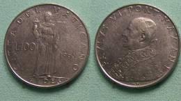 Vatican PAPAL  PAUL VI 100  LIRE 1963 - Vatican