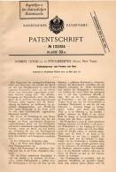 Original Patentschrift - R. Good In Poughkeepsie , New York , 1901 , Lever Press For Glass !!! - Tools