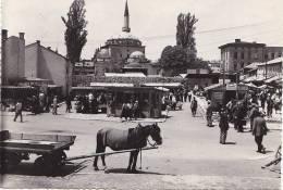 Bosnie Herzégovine - Sarajevo - Attelage - Marché - Mosquée - Oblitération - Bosnie-Herzegovine