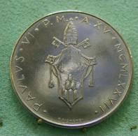 Vatican PAPAL  PAUL VI 100  LIRE FDC   1977 - Vatican