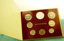 Vatican PAPAL  PAUL VI FOLDER 1975 ANNO SANTO  8 COINS UNC 1 SILVER 500 LIRE RARE - Vatican