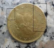 *MONETA DA 20 LIRE DEL 1982 REPUBBLICA ITALIANA Con Difetto Di Conio - - 20 Lire