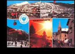 SERRE CHEVALIER CHANTEMERLE Hautes Alpes 05 Multivues  Station Téléphérique (collection Morel Tabac ) - Serre Chevalier