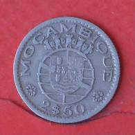 MOZAMBIQUE  2,5  ESCUDOS  1954   KM# 78  -    (Nº01963) - Mozambique