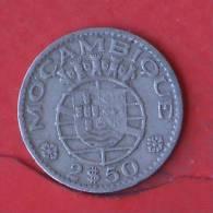 MOZAMBIQUE  2,5  ESCUDOS  1965   KM# 78  -    (Nº01964) - Mozambique