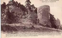 202 - L' Auvergne Pittoresque Château De Mauzun - Francia