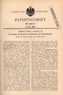 Original Patentschrift - R. Pohl In Hamm I.W., 1900 , Apparat Für Einwickelpapier , Papier !!! - Historische Dokumente