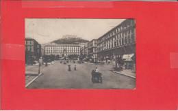 #G0417# NAPOLI - PIAZZA MUNICIPIO (cartolina Fotografica) - Napoli