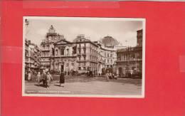 #G0418# NAPOLI - PIAZZA TRENTO E TRIESTE (cartolina Fotografica) - Napoli