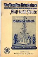 Propaganda Nazismo,KDF(kraft Durch Freude) Opuscolo - Hobbies & Collections