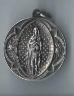 Médaille Religieuse/Basilique De ND Du Rosaire De Lourdes/ Nickel/vers 1930?      CAN56 - Religion & Esotérisme