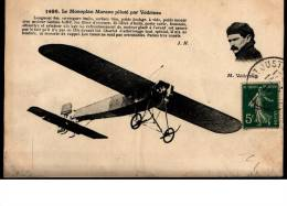 Cpa 15/06/1911  -  Le  Monoplan  MORANE  Piloté  Par  VEDRINES - Non Classés