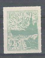 ESPANA / Espagne,Guerra Civil,Locales / Poste Locale , LUGO PRO COMBATIENTES Navire Croiseur ,25 C Vert,neuf ,TB ! - Nationalist Issues