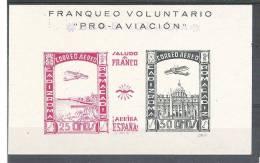 ESPANA / Espagne,Guerra Civil,Locales / Poste Locale,Bloc Feuillet CADIZ ROMA, Correo Aereo,neuf  ,TB ! - Nationalist Issues