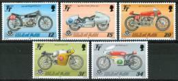 1987 Isola Di Man Motociclette Motorcycles Motos Set MNH** Nu70 - Isle Of Man