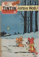 Journal TINTIN - Edition Belge.    1955.  N51.    Couverture Macherot. - Tintin