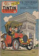 Journal TINTIN - Edition Belge.    1955.  N46.    Couverture De Moor. - Tintin