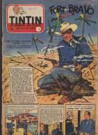Journal TINTIN - Edition Belge.    1955.  N1.    Couverture  Craenhals. - Tintin