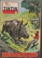Journal TINTIN - Edition Belge.    1955.  N3.    Couverture  Reding. - Tintin