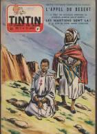 Journal TINTIN - Edition Belge.    1955.  N5.    Couverture  Funcken. - Tintin