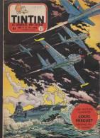 Journal TINTIN - Edition Belge.    1955.  N37.    Couverture  Reding. - Tintin